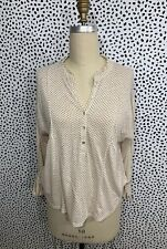 Lucky Brand Top Vintage Boho Peasant XS New