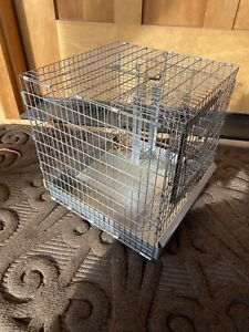 Vintage Metal Hendryx Gerbil Hamster mouse Critter Cage,Excercise Wheel