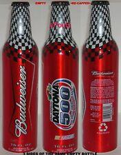 NASCAR BUDWEISER 2007 DAYTONA FLORIDA ALUMINUM BEER BOTTLE-CAN RACE CAR SPORTS
