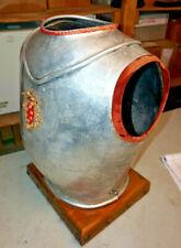 Vintage Metal Knight Armor Suit Bust Torso Display Decoration Medieval Antique