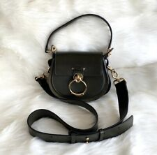 New Chloe Tess Bag  Suede/Leather