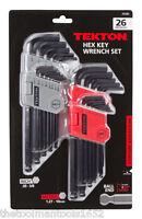 Tekton 26 PC. Hex Key Wrench Set Ball End No. 25282
