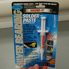Solder It Sp 7 Silver Bearing Solder Paste Syringe 71 Grams Flux Blended In