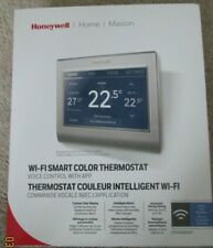 Honeywell RTH9585WF Wi-Fi Smart Touchscreen Thermostat, Silver