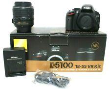 Nikon D5100 DSLR Camera with 18-55mm VR Lens
