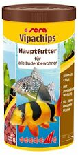 Sera Vipachips - Hauptfutter für Bodenfische, Welsfutter 1 Liter (1 x 1000 ml)