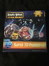 Star Wars Angry Birds Super 3-D 150 Piece Puzzle