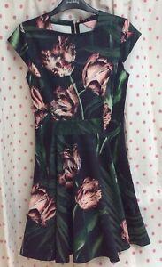 GORGEOUS 💓 TED BAKER Dress Size 1 UK 8 💓