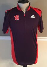 LONDON 2012 OLYMPICS GAMES T SHIRT OFFICIAL ADIDAS SMALL