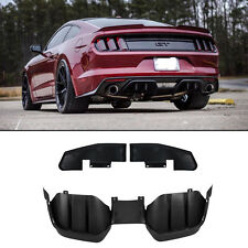 ABS Black Rear Diffuser BodyKits for 2015-2017 Ford Mustang Premium