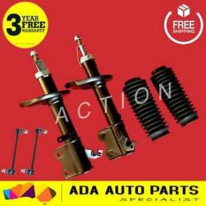 2 x FORD ESCAPE MAZDA TRIBUTE FRONT GAS STRUTS SHOCK ABSORBERS 01-08