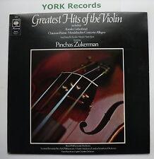 30063 - GREATEST HITS OF THE VIOLIN - Pinchas Zuckerman - Ex Con LP Record
