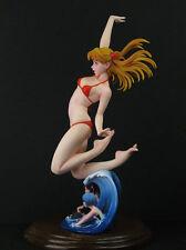 Asuka Summer Heat Evangelion Eva Girl Anime 1/7 Unpainted Figure Model Resin Kit