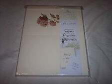 Laura Ashley Hydrangea Program Paper, 50 Count