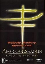 The King Of The Kickboxers 02 - American Shaolin (DVD, 2004) - Region 4