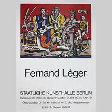 Fernand Léger: Ausstellungsplakat Staatliche Kunsthalle Berlin 1981.