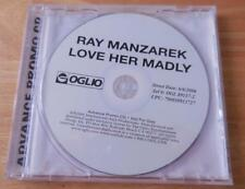 Ray Manzarek - Love Her Madly (2006) Advance Promo CD -- RARE!