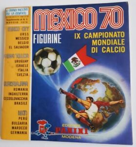 PANINI 1970 WORLD CUP STICKER ALBUMS COMPLETE