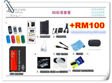 SONY PSP PlayStation Portable 100x 200x 300x memory package 8GB accessories