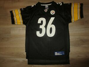 Jerome Bettis #36 Pittsburgh Steelers NFL Reebok Jersey Youth L 14-16 child