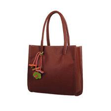 Women Solid Colors Large Shopping Fashion Handbags Shoulder Bag Totes US Stock