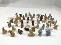 Mixed Lot 51 Wade England Whimsy Red Rose Tea Figurines VINTAGE Animals Clown