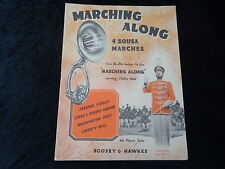 "Sheet Music - 4 Sousa Marches From the C1953 Film ""Marching Along"" -Clifton Webb"