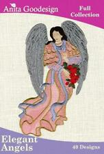 Elegant Angels Anita Goodesign Embroidery Machine Design CD NEW 32AGHD