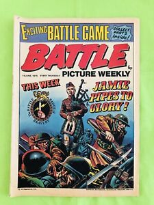 Battle Picture Weekly. British Comic Book. 14 June 1975 Very Good Condition.