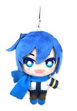 Vocaloid 4'' Kaito Plush Phone Strap Licensed NEW