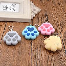 Patte de Chat Porte-clés LED Lumineux avec Son Keyfob Sac Accessories Cadeau NEW