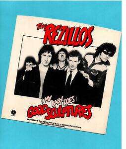 REZILLOS ~ GOOD SCULPTURES. Cover only. NO RECORD!!! EX.