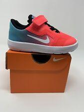 BABY GIRL: Nike Revolution 3 Shoes, Pink & Blue Ombré - Size 6C 819418-404