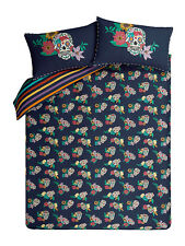 Day of the Dead Sugar Skull Tattoo Man Colour KING Duvet Cover + 2 Pillowcases