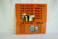 KANYE WEST THE LIFE OF PABLO 2LP CLEAR & CLEAR BLUE-GREEN MARBELD VINYLS