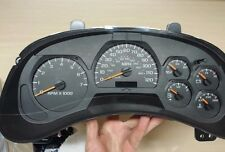 2002 TO 2007 CHEVY TRAIBLAZER INSTRUMENT CLUSTER EXCHANGE  WO/DIC