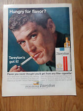 1963 Tareyton Cigarette Ad  Hungry for Flavor