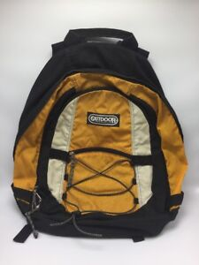 Outdoor Products Yellow Black White Backpack Camping Hiking