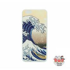 Tres Robins Original Japón relieve patrón y Suave Iphone 6 Iphone 6s casos