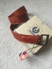 Belstaff unisex Cintura in Pelle 100% pelle di lusso Belstaff Cintura Nuovo Con Etichetta Raro