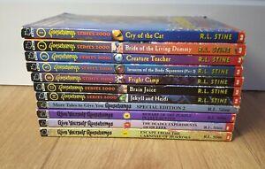 Vintage Goosebumps Book Series 2000 Give You Special Edition R L STINE Bundle 11