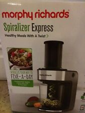 Morphy Richards Electric Spiralizer Express