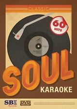 CLASSIC SOUL HITS - SBI KARAOKE DVD - 60 HIT SONGS