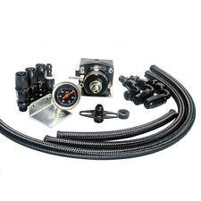 7MGTE MKIII Fuel Pressure Regulator with hose line kits Fittings Gauge