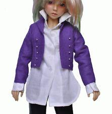 """Boneka Purple woolfelt Jacket for 43 cm/17"""" BJD/MSD Dolls"""