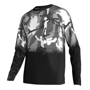 Motocross Cycling Jersey Downhill Jacket Mountain MTB Bike Tight Long Shirt Coat
