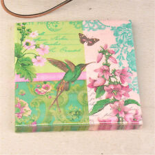 20pcs floral bird paper napkins wedding party birthday decoration suppliesSC