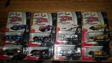 Jada 1:55 Lot Of 8 Speed Racer Snake Oiler/Black Tiger/GRX/Mach 5/Prince Kabala