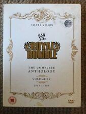 WWE - Royal Rumble Anthology Volume 4 DVD (5 Disc Set) WWF Rare 2003 - 2007