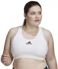 NWT - Womens Plus Size 1X adidas Don't Rest Alphaskin Medium Support Sports Bra